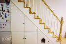 5-10万80平米复式现代简约风格楼梯效果图