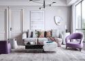140平米复式现代简约风格卧室装修案例