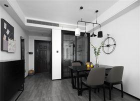 90平米三現代簡約風格餐廳設計圖