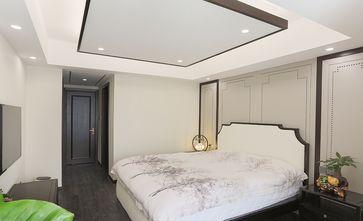 140平米四室两厅中式风格卧室背景墙图