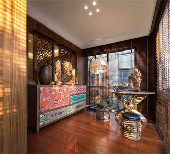 80平米三室两厅东南亚风格书房图