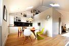 80平米日式风格餐厅装修图片大全