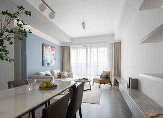 90平米三室三厅北欧风格客厅装修效果图