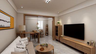 80平米日式风格客厅装修效果图