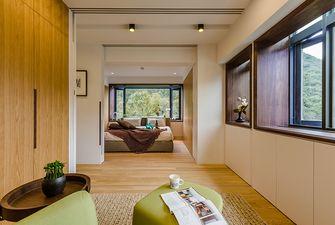 110平米日式风格阳光房设计图