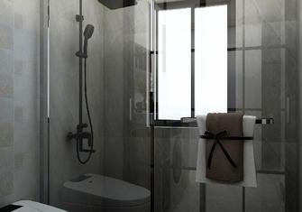 130平米三室一厅现代简约风格卫生间图片