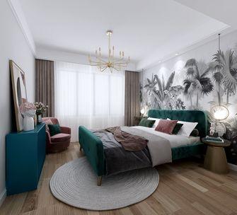 110平米复式北欧风格卧室图片