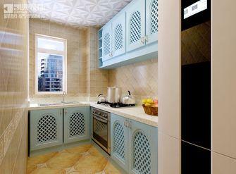 90平米地中海风格厨房橱柜装修效果图