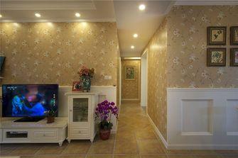 80平米田园风格走廊装修图片大全