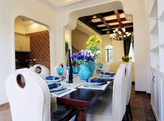 100平米三室两厅地中海风格餐厅装修图片大全