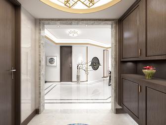 120平米三室一厅现代简约风格玄关图