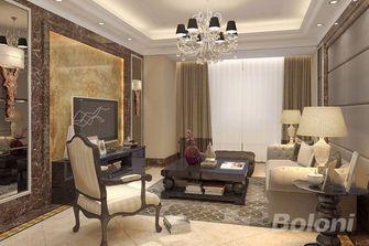 120平米新古典风格客厅图