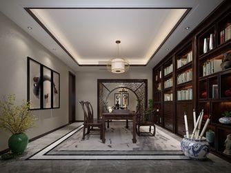 140平米别墅混搭风格书房图