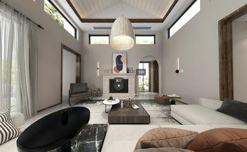 130平米三室两厅田园风格客厅图