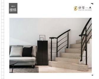 10-15万40平米小户型现代简约风格楼梯图片