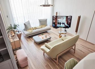 140平米三室两厅现代简约风格影音室效果图