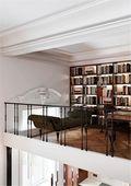 70平米一室一厅混搭风格书房图