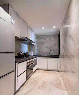 富裕型80平米英伦风格厨房装修案例