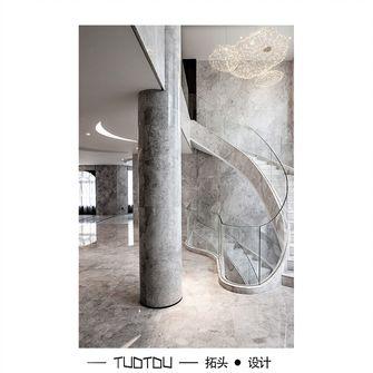 20万以上140平米别墅混搭风格楼梯间图片