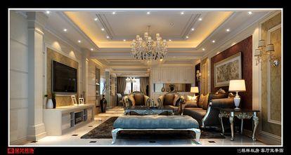 豪华型140平米四室五厅欧式风格客厅装修案例