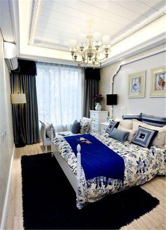 120平米四室一厅地中海风格卧室图片
