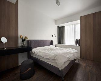 130平米三室一厅现代简约风格卧室欣赏图