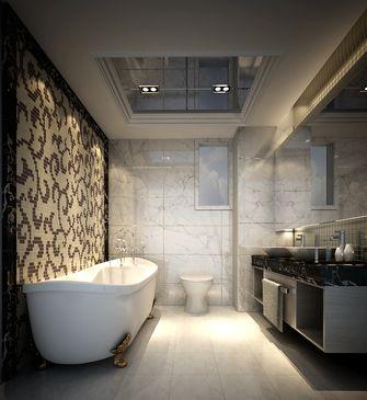 100平米三室一厅现代简约风格卫生间浴室柜欣赏图