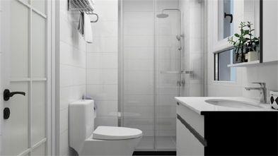 90平米三室一厅田园风格卫生间效果图