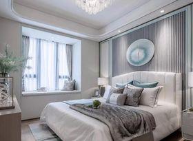 90平米三室一厅中式风格卧室效果图