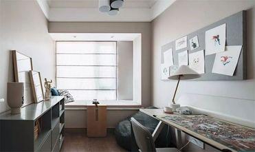 120平米三室两厅北欧风格书房图