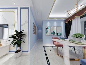 10-15万130平米三美式风格走廊效果图