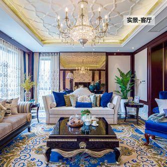 豪华型140平米四室三厅新古典风格客厅图