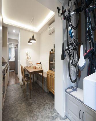 90平米一室一厅现代简约风格餐厅图片大全