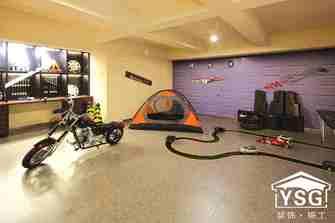 140平米别墅东南亚风格健身室效果图