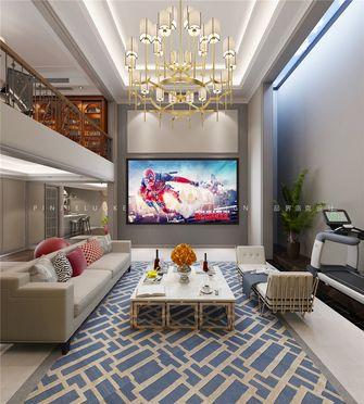 140平米复式美式风格影音室装修效果图