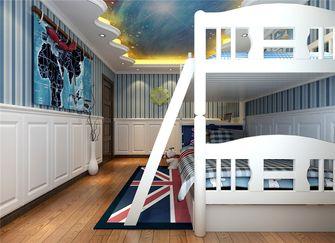 豪华型140平米四室两厅英伦风格儿童房装修效果图
