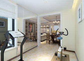 140平米三室两厅中式风格健身室图片