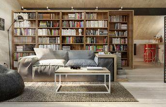 10-15万70平米一室一厅英伦风格书房装修图片大全