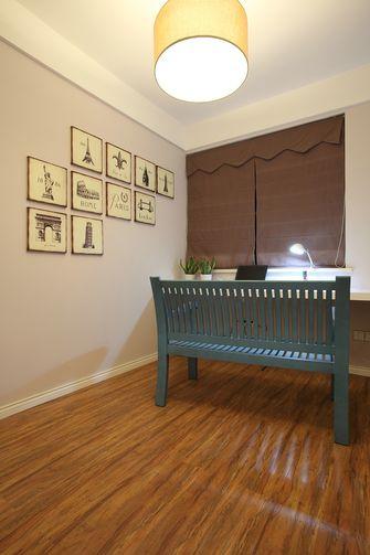 80平米一居室美式风格书房图片大全