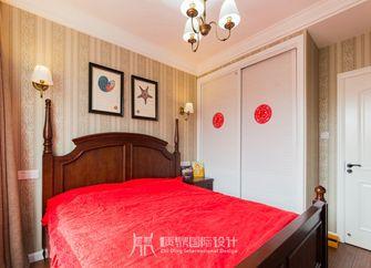 富裕型90平米复式美式风格卧室装修图片大全
