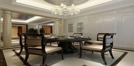 10-15万140平米三室三厅新古典风格餐厅图
