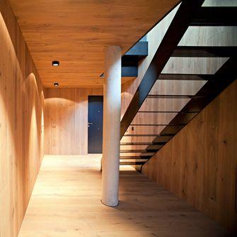 富裕型130平米复式现代简约风格楼梯装修效果图