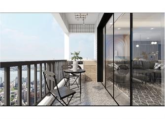 140平米四室两厅现代简约风格阳台欣赏图