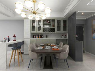 130平米四室两厅现代简约风格餐厅图