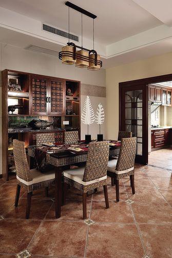 90平米别墅东南亚风格餐厅图片大全