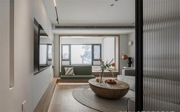 100平米三日式风格客厅设计图
