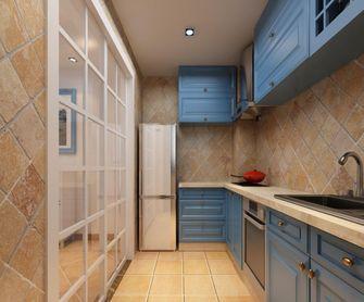 130平米四室一厅地中海风格厨房装修图片大全