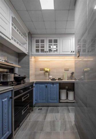 90平米三室两厅欧式风格厨房图