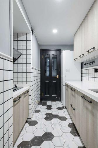 90平米三室两厅宜家风格厨房图片大全