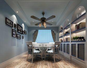 110平米四室两厅地中海风格阳光房设计图